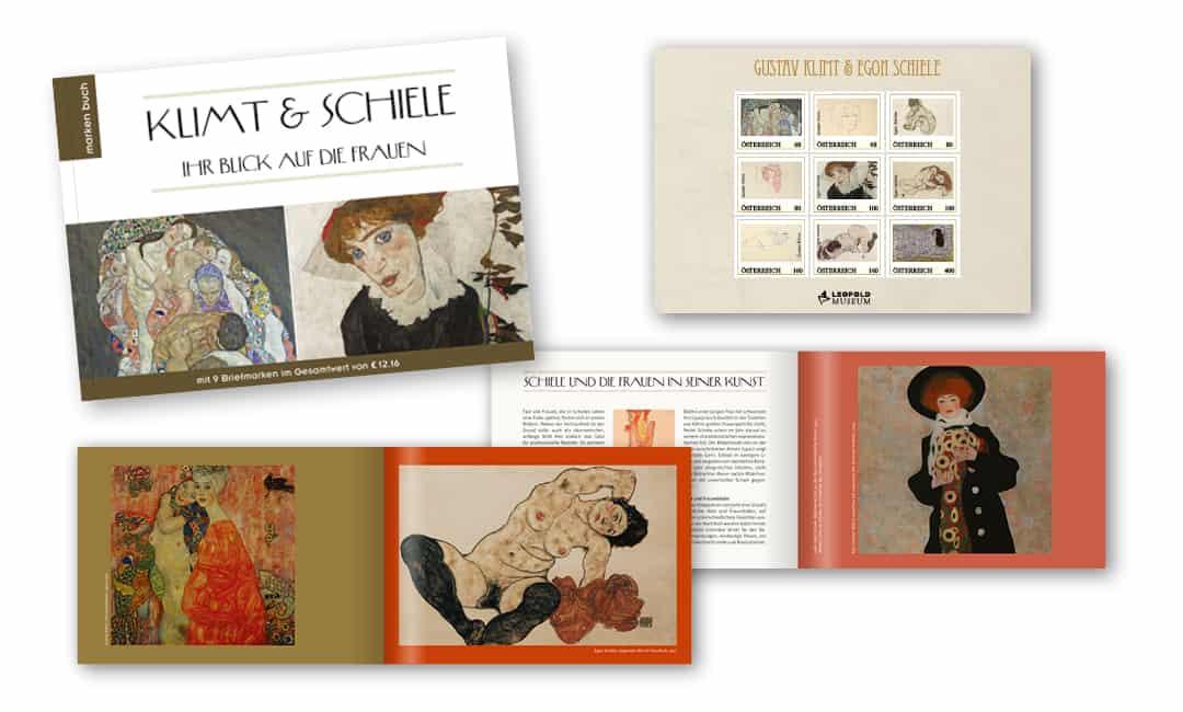 Markenbuch: Klimt & Schiele - ihr Blick auf die Frauen