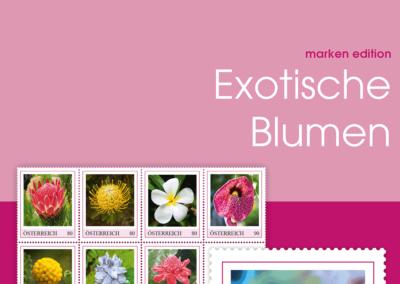 Markenedition: Exotische Blumen