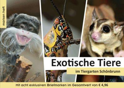 Markenheft: Exotische Tiere