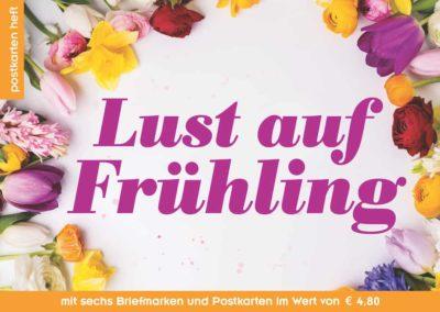 Postkartenheft: Lust auf Frühling