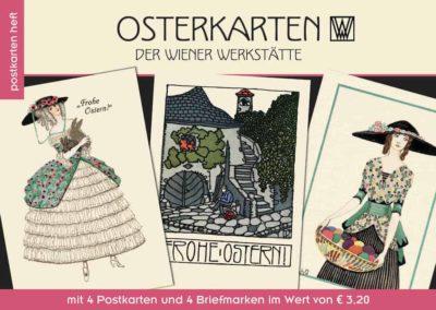 Postkartenheft: Osterkarten der Wiener Werkstätte