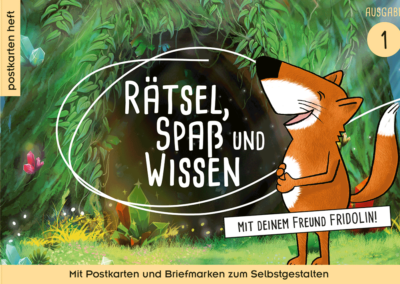 Postkartenheft: Rätsel, Spaß und Wissen