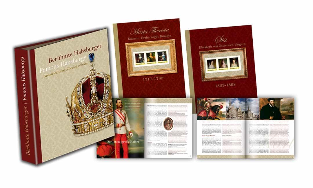 Sammelmappe: Berühmte Habsburger
