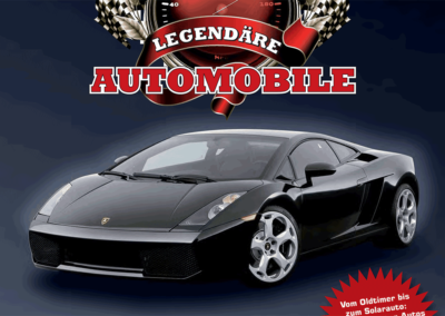 Stickeralbum: 201 legendäre Automobile