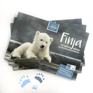 Das Eisbärenmädchen namens Finja.