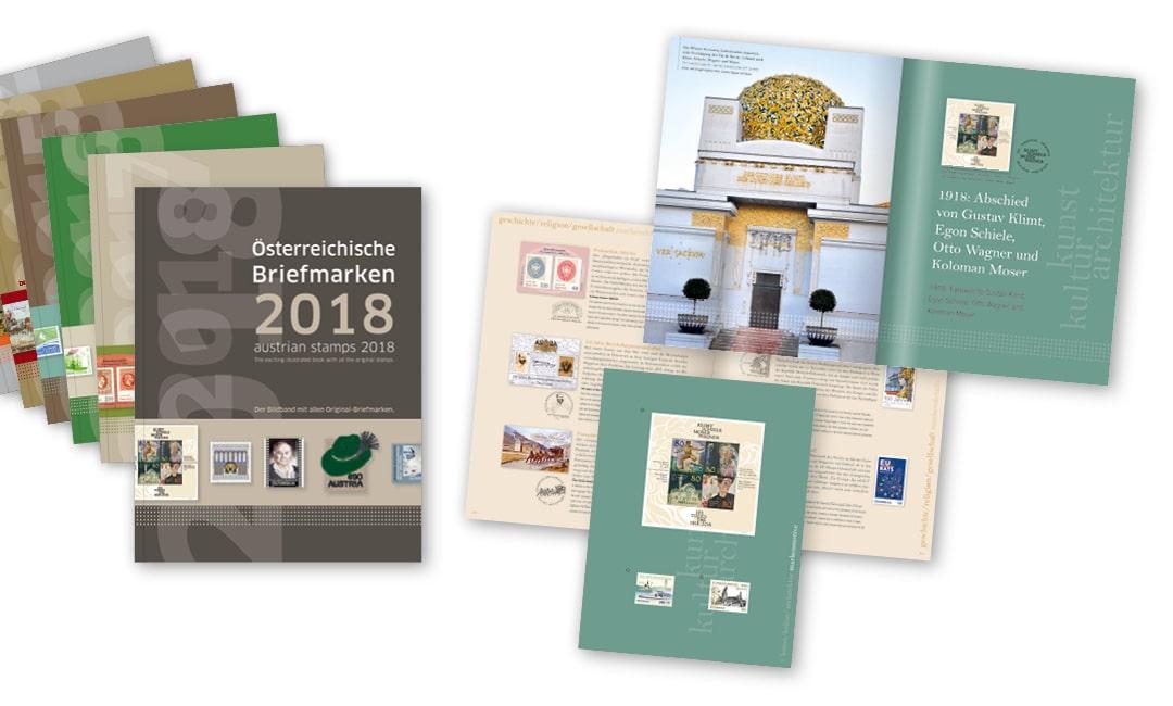 Markenbuch: Österreichische Briefmarken