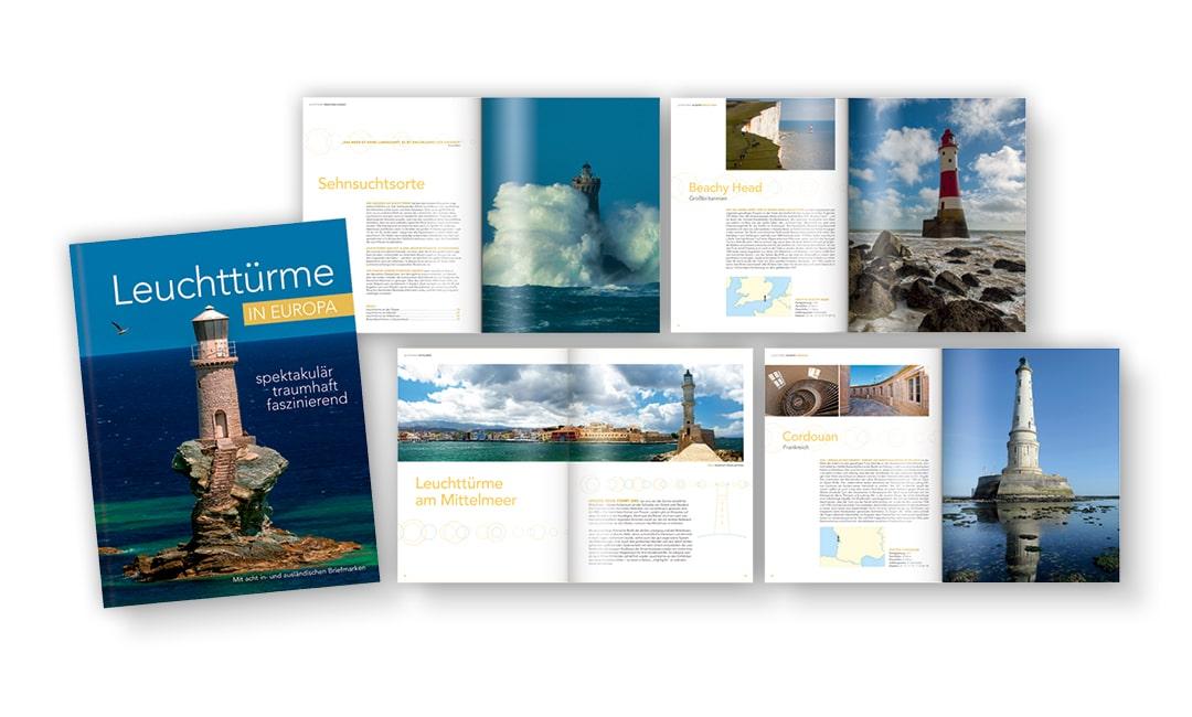 Markenbuch: Leuchttürme in Europa