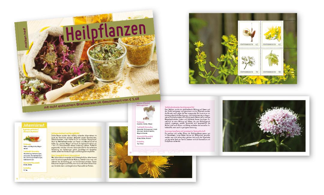 Markenheft: Heilpflanzen