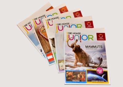 Magazin Münze Junior